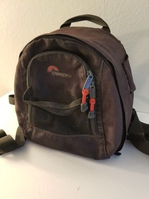 Clean Intact Lowepro Professional SLR DSLR Photography Camera Case Bag Backpack Back Pack Fuji Leica Canon Nikon Sony GFX-50R for Sale in Montclair, CA