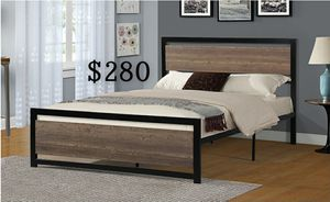 QUEEN BED FRAME W/ MATTRESS INCLUDED for Sale in Carson, CA