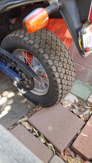 Yamaha tw200 Rim and UTV tire for Sale in Rosemead, CA