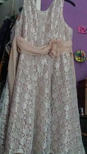 Used once, Tan Dress for Sale in Durham, NC