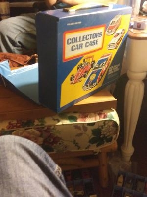 Collectors Car Case K48- Tara Toys- Made in U.S.A. for Sale in Addison, TX