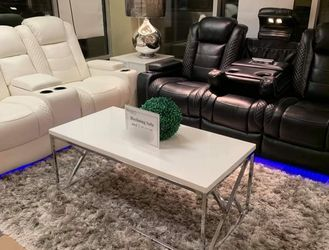 . Party Time Midnigth Power Reclining Living Room Set Sofa And Loveseat for Sale in Austin,  TX
