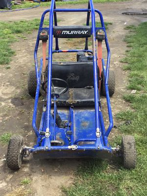 2 seater Live axle go kart 6hp with header and jet kit I have tires and new clutch go with it Fast will pull 300 pounds around like rag doll All nee for Sale in Waynesboro, VA