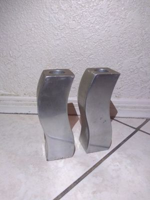 Silver Candle Holders for Sale in Mesa, AZ