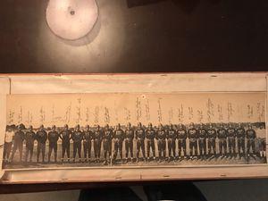 Washington Redskins RARE 1937 Signed team panoramic for Sale in Alexandria, VA