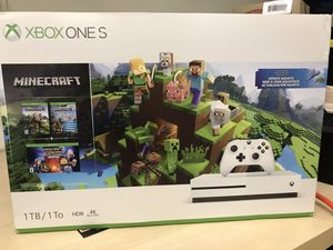 New In Box - Xbox One S 1TB w/ Minecraft Game Download for Sale in Los Angeles, CA