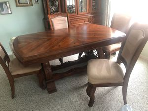 Dining room tables, hutch. Coffee table, 2 end tables for Sale in Sun City, AZ