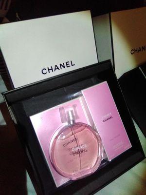 Chanel Chance Eau Tendre Eau De Toilette (Perfume) and Lait Fondant Pour Le Corps (Body Moisturizer) for Sale in Modesto, CA