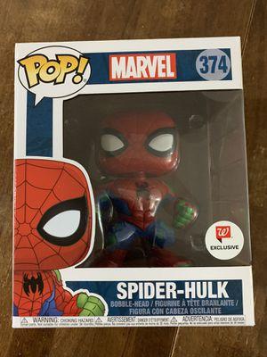 FUNKO POP SPIDER-HULK 6 inch Walgreen's Exclusive NEW for Sale in Miami, FL