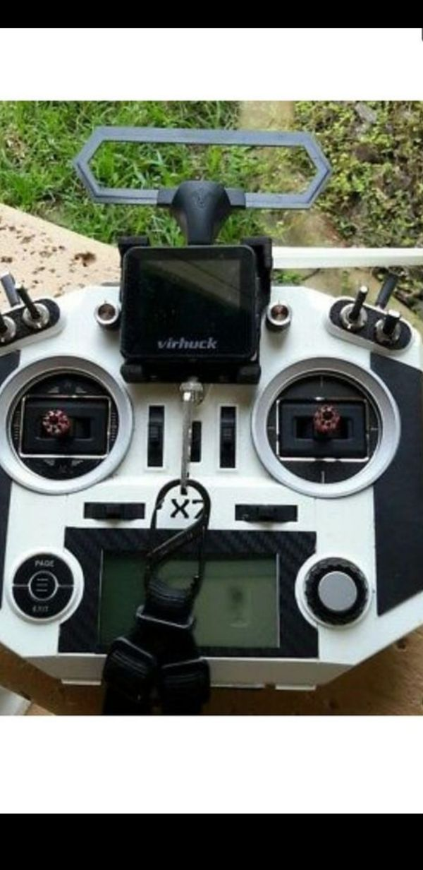 Fpv drone Virhuck spectating mini 5.8 analog screen RADIO NOT INCLUDED ONLY FOR DISPLAY