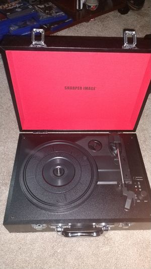 Sharper Image Portable Bluetooth Speaker/Turntable for Sale in Chapel Hill, NC