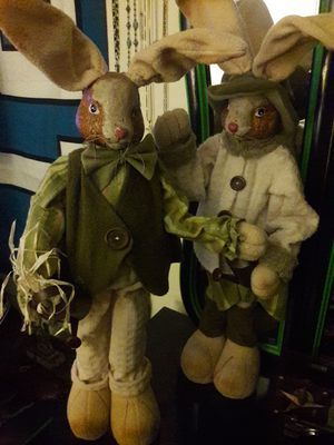 Well dressed rabbits 3ft tall for Sale in Tacoma, WA