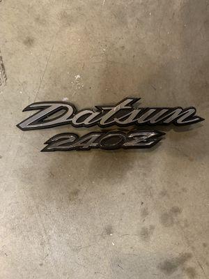Original 240z emblems for Sale in Sumner, WA