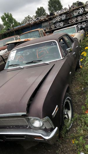1969 Chevy nova 4 door parting out for Sale in Kent, WA