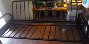 FUTON BLACK IN EXCELLENT CONDITION for Sale in Bakersfield, CA