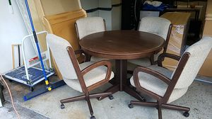 Small Round Dining Table and Chairs for Sale in Miami, FL
