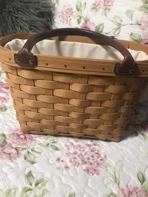 Longaberger basket 🧺 for Sale in Anaheim, CA