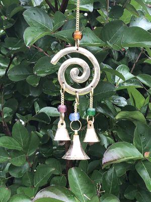 Spiral Symbol Chakra Beads Feng Shui Bells Wind Chime Sun Catcher for Sale in Nashville, TN