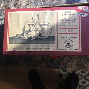 James 6 Pounder Canon Kit for Sale in Woodbury, CT