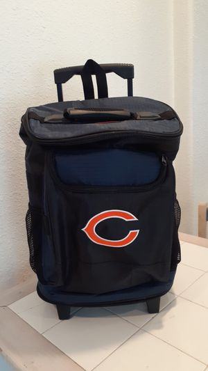 Chicago Bears backpack &Rolling Cooler. for Sale in Redwood City, CA