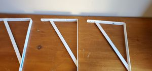 Three Shelf Bracket 16 in. x 10 in. White Heavy Duty Shelf for Sale in San Jose, CA