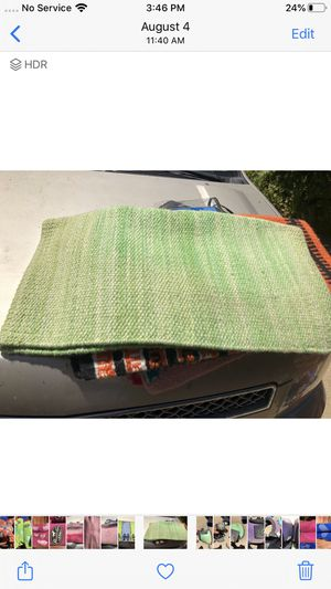 Green Maytax horse saddle blanket for Sale in Prunedale, CA