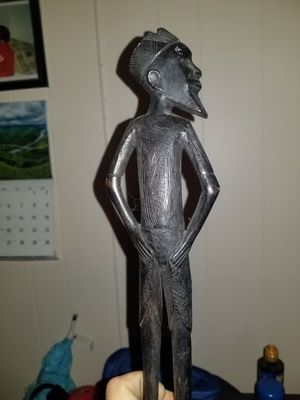 Wood statue for Sale in North Huntingdon, PA