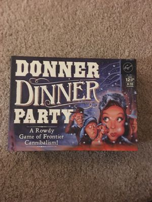 Donner Dinner Party Board Game for Sale in Cary, NC