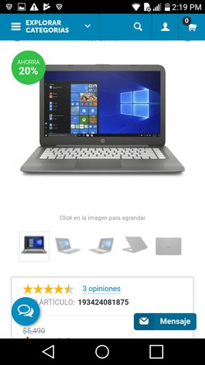 hp stream laptop for Sale in North Little Rock, AR