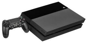 Ps4 with a remote and call of duty black opps 3 and cords for Sale in Peoria, IL