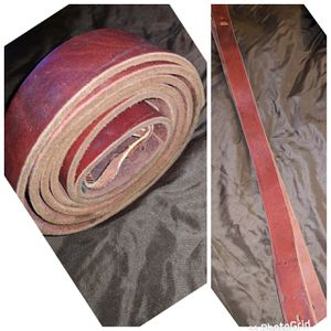 6ft LONG! HEAVY DUTY LEATHER LATIGO CINCH STRAP for WESTERN HORSE SADDLE. XLNT COND. for Sale in Perris, CA