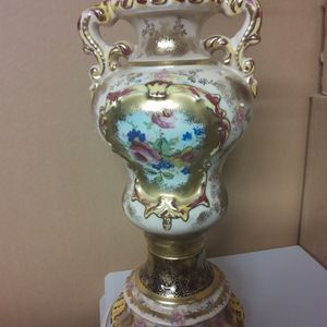 Hand-painted Table Lamp for Sale in Philadelphia, PA