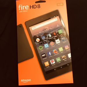 Amazon Fire HD 8 tablet 16g NEVER Opened for Sale in Stanton, CA