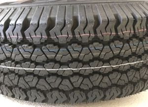 I have only ONE Jeep tire (215/75R15 )with ring .Wrangler RTIS brand new. for Sale in Frisco, TX