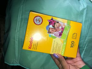 Kodak Photo Paper 100 sheets for Sale in Sanger, CA