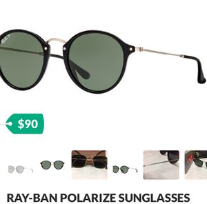 RAY BAN SUNGLASSES POLARIZE for Sale in Fort Worth, TX