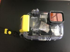 Sony cybershot waterproof camera case for Sale in Colesville, MD