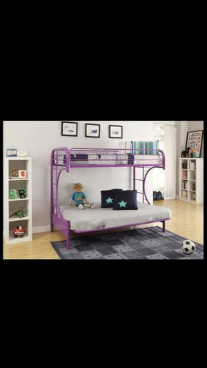 ACME Eclipse Twin Over Full Futon Bunk Bed for Sale in Houston, TX