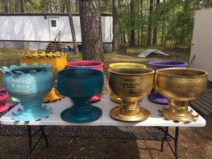 Tire flower pots for Sale in Pineville, LA