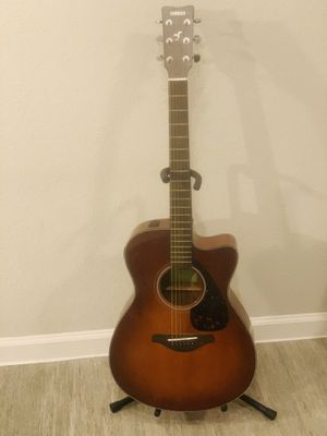 Yamaha electric acoustic guitar for Sale in McKinney, TX