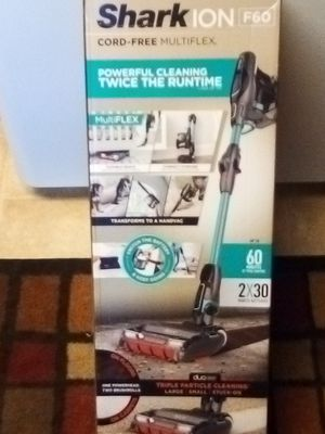 Shark ion f60 vacuum new $150 for Sale in Tacoma, WA