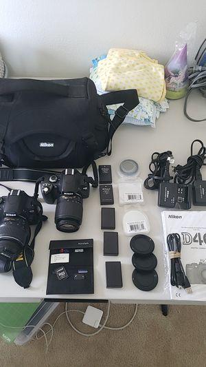 Nikon D40 & D40X bundle for Sale in El Cajon, CA