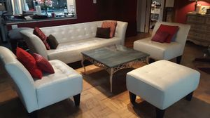 Leather furniture set for Sale in Falls Church, VA