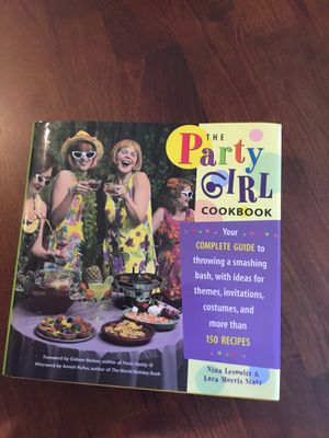 Party Every Month with Party Girl Cookbook for Sale in Waynesburg, PA