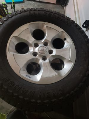 18in wheels and tires for Sale in Tacoma, WA