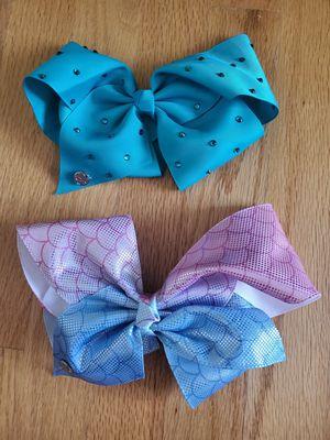 Jojo Siwa bow $10 for both for Sale in Oak Lawn, IL