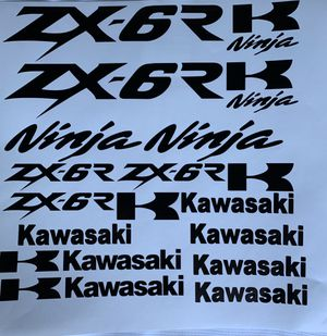 Kawasaki decals for Sale in Puyallup, WA