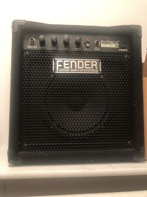 Fender Rumble 15 Bass Amp for Sale in Chino, CA