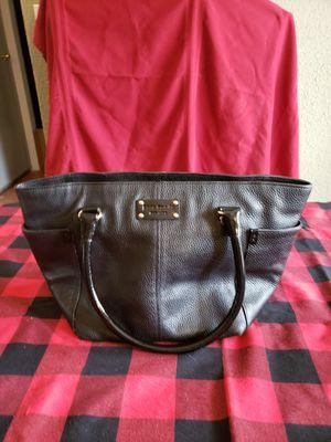 Kate Spade Black leather Handbag for Sale in Kent, WA
