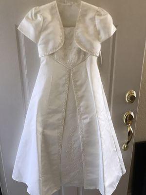 Communion flower girl dress up sz 8 for Sale in San Diego, CA